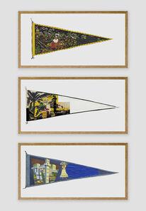 Bruno Faria, 'Landscape Memories / Salvador - Triptych', 2020