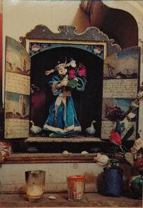 Ellen Auerbach & Eliot Porter, 'Oaxaca, Saint with Dusk, San Felipe', 1956