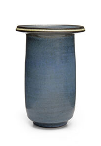 Harrison McIntosh, 'Tall cylindrical vase'