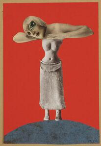 Hannah Höch, 'Ohne Titel (Aus einem ethnographischen Museum) ', 1930