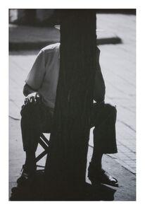 Mo Yi, 'Scenery No.3 A man and a tree Tianjin 1986  风景No.3, 一个人和一棵树,天津,1986年', 1986-1989