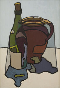 Cyril Mann, 'Still Life of Bottle and Jug', ca. 1955