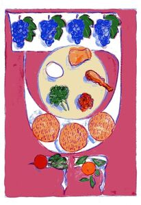 Mark Podwal, 'Seder Plate', 2011