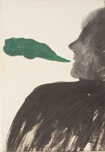 Anastasia Bay, 'Smoke Talk (yellow  ghost)', 2016