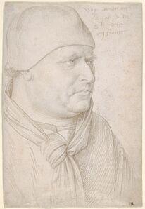 Jean Fouquet, 'Portrait of an Ecclesiastic', ca. 1461