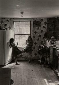 William Gedney, 'Three Girls in Kitchen, Kentucky', 1964-printed later