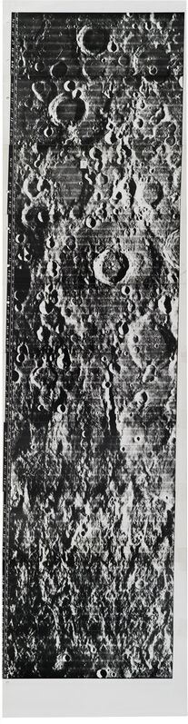NASA, 'Orbiter 4 · Lunar Surface', 1967, Photography, Silver gelatin print, Daniel Blau