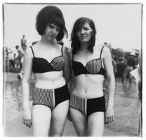 Diane Arbus, 'Two girls with matching bathing suits, Coney Island', 1967