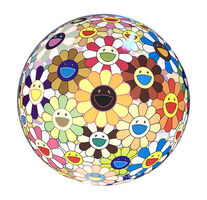 Takashi Murakami, 'Flower Ball (3-D) Sunflower', 2007