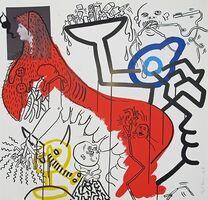 Keith Haring, 'Apocalypse IV', 1988