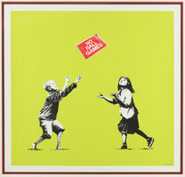 Banksy, 'No Ball Games (Green)', 2009