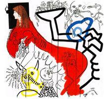 Keith Haring, 'Apocalypse III', 1988