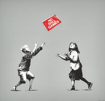 Banksy, 'No Ball Games, Grey', 2009