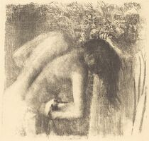 Edgar Degas, 'After the Bath (La sortie du bain (Grand planche))', ca. 1891