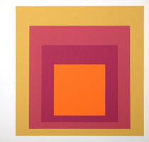 Josef Albers, 'Homage to the Square : Als Wechselwirkung der Farbe (C)', 1977