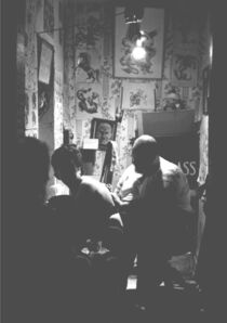 John 'Hoppy' Hopkins, 'Tattoo Bill's Tattoo Parlour in Portobello Road, London', ca. 1964