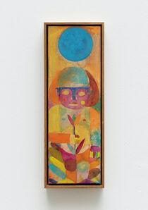 Alexander Tovborg, 'dante med tulipan (om dagen)', 2021