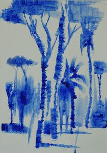 Laura Federici, 'Ultramarine blue n. 15', 2020