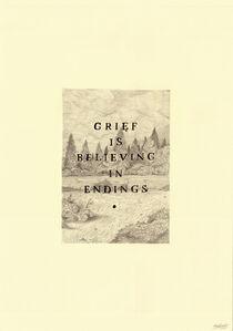 Keaton Henson, 'Grief is Believing', 2016