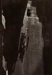 Lucien Hervé, 'de la Tour de l'église de St Severin', 1948