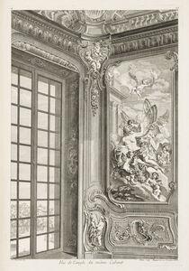 Juste-Aurèle Meissonnier, 'Vue de l'angle du même cabinet, 1st plate', 1742-1748