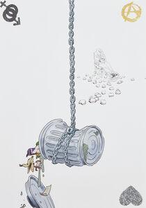 Jordan Wolfson (b.1980), 'Fresh, Love, Tea Bag', 2013