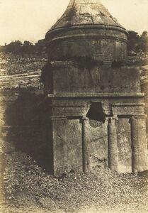 Auguste Salzmann, 'Absalom's Tomb, Valley of Kidron, Jerusalem', 1854