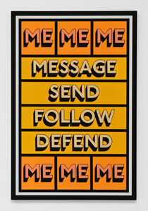 Tim Fishlock, 'MESSAGE ME', 2019