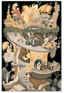Dr. Seuss, 'Dr. Seuss, Tower of Babel', 2002