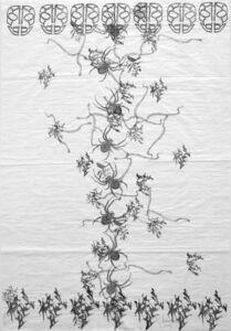 Carlos Amorales, 'Caligrafias (primera serie) 17', 2014