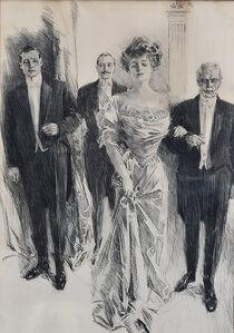 Howard Chandler Christy, 'The Grand Entrance', 1909