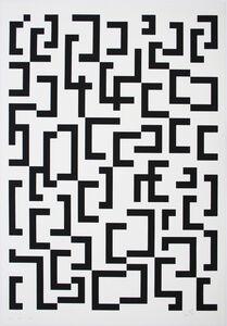 Leon Polk Smith, 'Werkubersicht/Work-Overview D', 1949-1987
