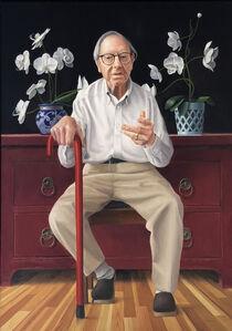 James Aponovich, 'Portrait of O', 2019