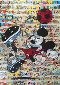 Diana Eger, 'Worldcup Mickey', 2016