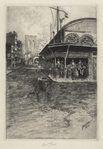Charles Frederick William Mielatz, 'Catherine Market', 1903/1907