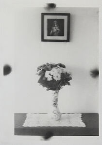 Michael Boffey, 'Double Exposure, Flowered Vase', 2020