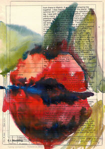 Maria Kulikovska, 'Watercolor Drawing on the Paper, Received from Migration Office #7', 2020