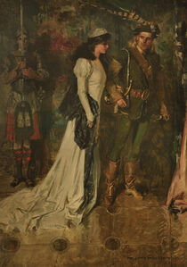 "Howard Chandler Christy, '""Lady of the Lake"" Book Illustration', 1910"