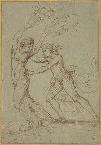 Giulio Romano, 'Apollo and Daphne'