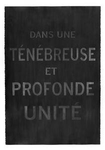 Carl Trahan, 'Dans une ténébreuse et profonde unité (In a Deep and Tenebrous Unity)', 2018