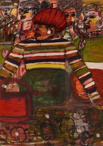 David Koloane, 'Red Beret', 2016