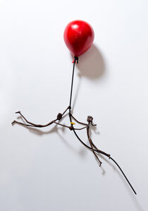 Ruth Bloch, 'Red Baloon', 2017