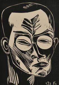 Conrad Felixmuller, 'Selbstbildnis', 1919