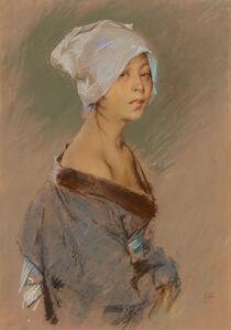 Robert Frederick Blum, 'The Japanese Girl', 1890
