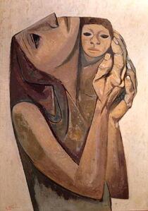 Eduardo Kingman, 'Motherhood', 1967