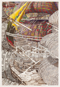 Julien Sinzogan, ' Sails of Return IX ', 2012