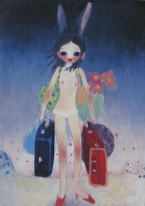 Aya Takano, 'Mail Mania Mami's summertime,move with a rabbit', 2006