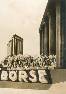 Ivo Pannaggi, 'The Berlin stock market', 1929