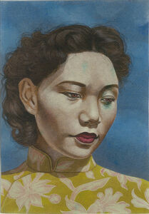 Eric Stotik, 'Untitled (asian woman looking down)', 2018