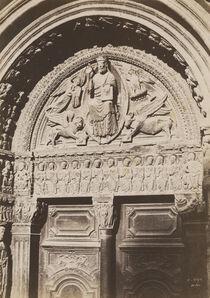 Charles Nègre, 'Arles, tympan et linteau du portail de Saint-Trophime', 1852/1852